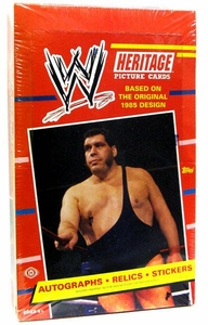 Topps 2012 WWE Wrestling Heritage Trading Cards Box [24 Packs]
