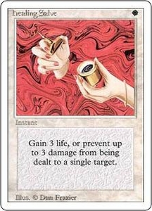 Magic the Gathering Revised Edition Single Card Common Healing Salve