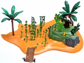 Playmobil LOOSE Accessory Desert Island with Cannon