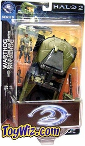 Halo 2 Action Figure Series 1 Warthog w/ Gauss Cannon