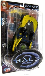 Halo 2 Action Figure Series 1 Ultra-Rare Chase Figure Civilian Hog [Military Rims]