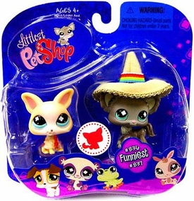 Littlest Pet Shop 2009 Assortment 'B' Series 2 Collectible Figure Chihuahuas