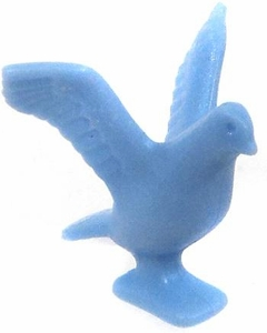Playmobil LOOSE Animal Light Blue Pigeon Taking Flight