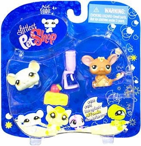 Littlest Pet Shop 2009 Assortment 'B' Series 3 Collectible Figure Mouse & Rat