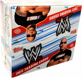 Topps 2011 WWE Wrestling  Trading Cards Hobby Box [24 Packs]