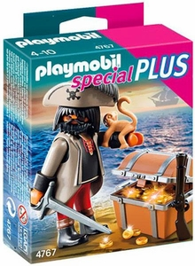 Playmobil Special Plus Set #4767 Gloomy Pirate & Treasure Chest