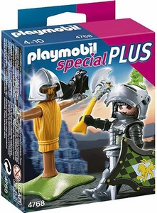 Playmobil Special Plus Set #4768 Lion Knight & Training Dummy