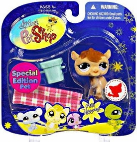 Littlest Pet Shop 2009 Assortment 'B' Series 4 Collectible Figure Camel [Special Edition Pet!]