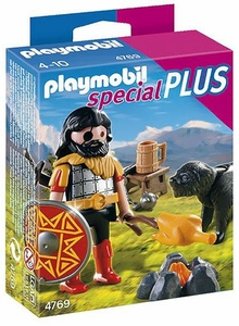 Playmobil Special Plus Set #4769  Barbarian & Dog at Campfire