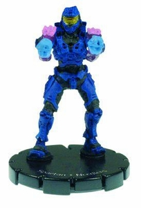 Halo 3 Wizkids CMG Miniature Game ActionClix Single Figure 008 Common Spartan Dual Needlers [Blue]
