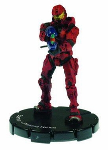 Halo 3 Wizkids CMG Miniature Game ActionClix Single Figure 011 Common Spartan Dual Plasma Rifles [Red]