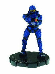 Halo 3 Wizkids CMG Miniature Game ActionClix Single Figure 012 Common Spartan Dual Plasma Rifles [Blue]