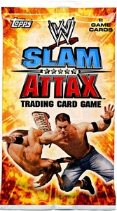Topps WWE Slam Attax Wrestling Trading Card Game Evolution Series 1 Booster Pack