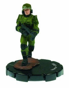 Halo 3 Wizkids CMG Miniature Game ActionClix Single Figure 014 Common Marine M7/Caseless
