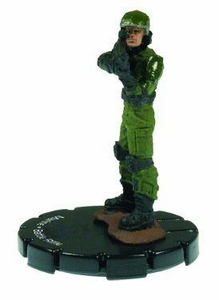 Halo 3 Wizkids CMG Miniature Game ActionClix Single Figure 015 Common Marine BR55 Battle Rifle