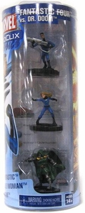 Marvel HeroClix Classics 3 Pack Fantastic Four Vs. Dr. Doom