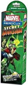 Marvel HeroClix Secret Invasion Booster Pack [5 Figures]