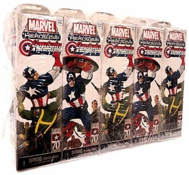 Marvel HeroClix Captain America ClixBrick [10 Booster Packs]