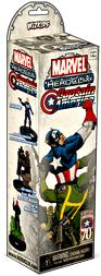 Marvel HeroClix Captain America Booster Pack [5 Figures]