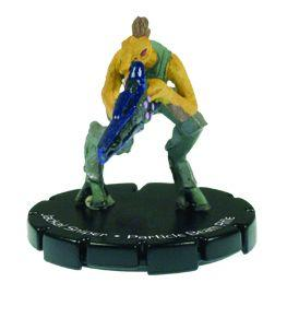 Halo 3 Wizkids CMG Miniature Game ActionClix Single Figure 026 Uncommon Jackal Partical Beam Rifle