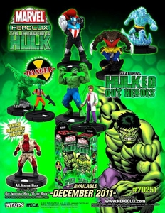 Marvel HeroClix Incredible Hulk ClixBrick [10 Booster Packs]