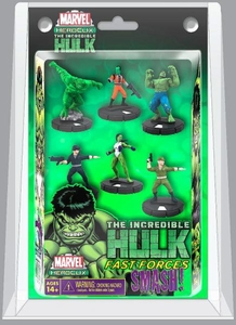 Marvel HeroClix Incredible Hulk Fast Forces Deluxe Starter Set Game [Includes 6 Figures]