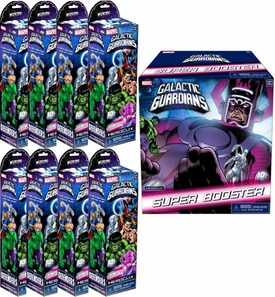 Marvel HeroClix Galactic Guardians ClixBrick [8 Booster Packs & 1 SUPER Booster Pack]