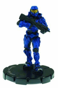 Halo 3 Wizkids CMG Miniature Game ActionClix Single Figure 038 Uncommon Spartan M90 Shotgun [Blue]