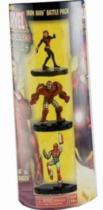 Marvel Heroclix Classics Battle Pack Black Widow & Iron Man 3-Pack