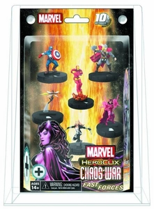 Marvel Heroclix Chaos War Fast Forces 6-Pack