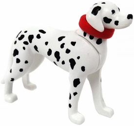 Playmobil LOOSE Animal Dalmatian Dog with Red Collar