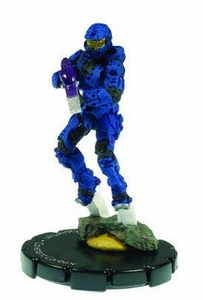 Halo 3 Wizkids CMG Miniature Game ActionClix Single Figure 046 Uncommon Spartan Covenant Carbine [Blue]