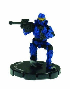 Halo 3 Wizkids CMG Miniature Game ActionClix Single Figure 048 Uncommon Spartan S2 AM Sniper Rifle [Blue]