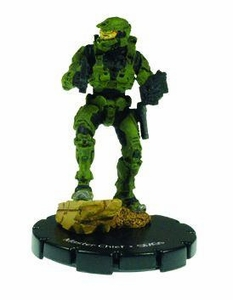 Halo 3 Wizkids CMG Miniature Game ActionClix Single Figure 050 Rare Master Chief Dual M7/Caseless SMG