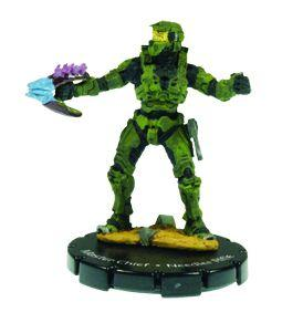 Halo 3 Wizkids CMG Miniature Game ActionClix Single Figure 051 Rare Master Chief Needler