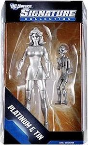 DC Universe Exclusive Signature Collection Action Figure Platinum & Tin
