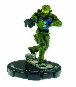 Halo 3 Wizkids CMG Miniature Game ActionClix Single Figure 052 Rare Master Chief Plasma Pistol & M7/Caseless SMG