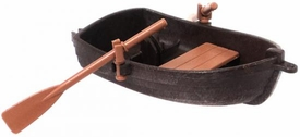 Playmobil LOOSE Accessory Brown Row Boat with Tan Oars