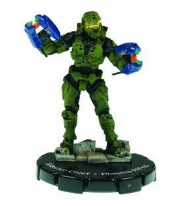 Halo 3 Wizkids CMG Miniature Game ActionClix Single Figure 053 Rare Master Chief Dual Plasma Rifles