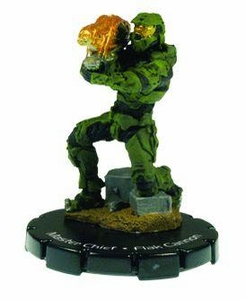 Halo 3 Wizkids CMG Miniature Game ActionClix Single Figure 056 Rare Master Chief Fuel Rod Gun