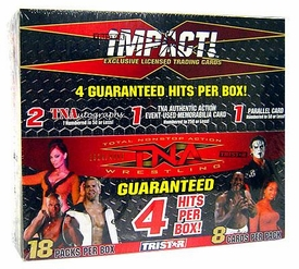 Tristar TNA Impact Wrestling Hobby Highlights Trading Card Box [18 Packs]