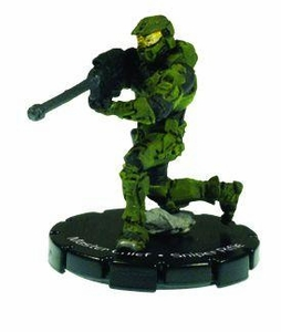 Halo 3 Wizkids CMG Miniature Game ActionClix Single Figure 058 Rare Master Chief S2 AM Sniper Rifle