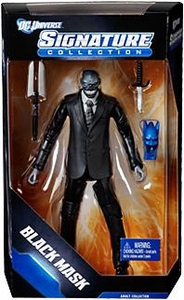 DC Universe Exclusive Signature Collection Action Figure Black Mask