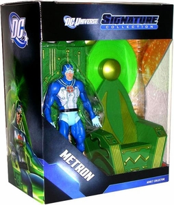 DC Universe Exclusive Signature Collection Deluxe Action Figure Metron with Mobius Chair