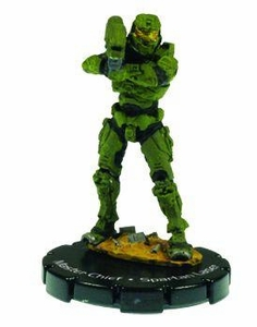 Halo 3 Wizkids CMG Miniature Game ActionClix Single Figure 060 Rare Master Chief Spartan Laser