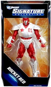 DC Universe Exclusive Signature Collection Deluxe Action Figure Rocket Red