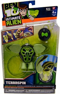 Ben 10 Deluxe DX Alien Collection Action Figure Terraspin