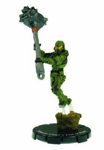 Halo 3 Wizkids CMG Miniature Game ActionClix Single Figure 082 Super Rare Master Chief Fist of Rukt