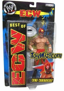 Best of ECW & WCW Wrestling Action Figure Rey Mysterio #1 [Red Mask & Pants] BLOWOUT SALE! Limited Edition!