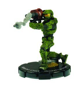 Halo 3 Wizkids CMG Miniature Game ActionClix Single Figure 084 Super Rare Master Chief M41 SSR Rocket Launcher
